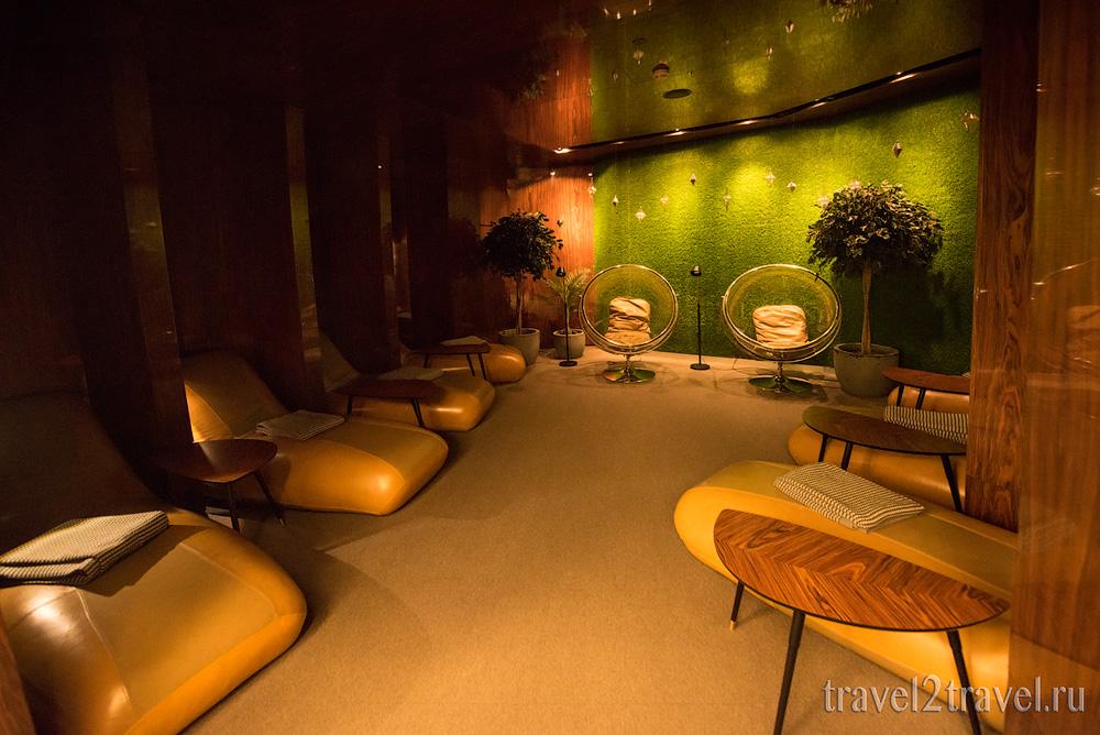 зона отдыха бизнес-зал Mastercard Lounge терминал E Шереметьево